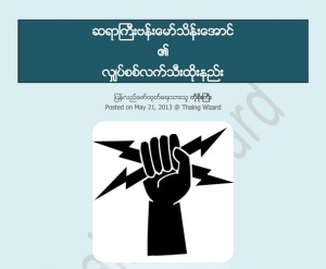 Snap Fist Of Banmaw Thein Aung